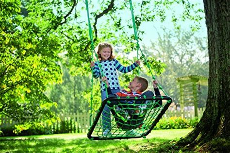 hearthsong platform swing hearthsong deluxe platform swing nylon rope and padded