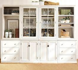 wall storage units logan modular wall system traditional display and wall shelves by pottery barn