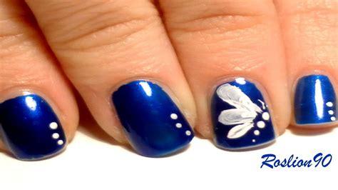 easy nail art one stroke easy one stroke butterfly nail art youtube