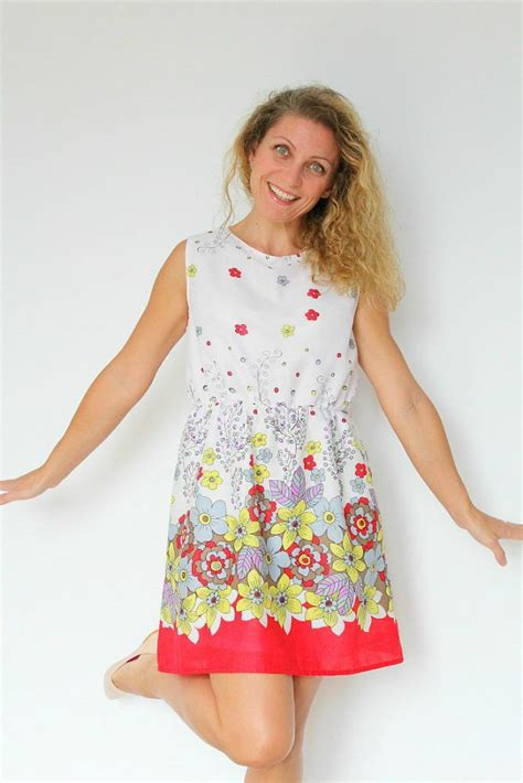 dress pattern gathered waist gathered waist summer dress pattern favecrafts com