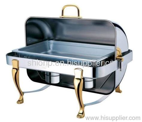 Vicenza Rectangular Food Warmer oblong stack up chafing dish manufacturer supplier