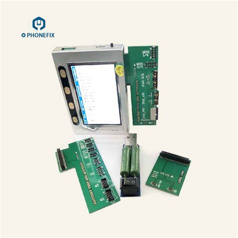 iphone 5 6 6s 7 8 x battery health tester cycle count testing machine dongle and repair box