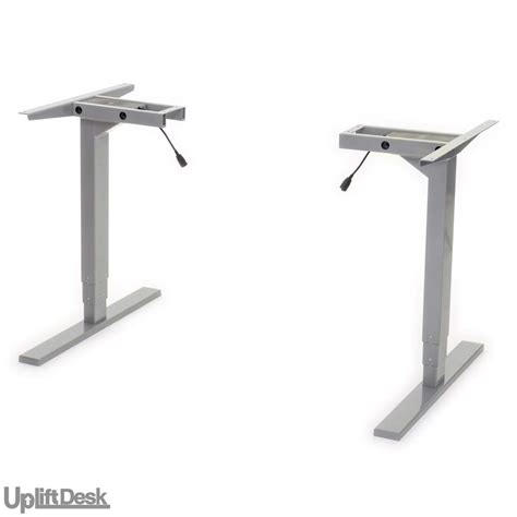 height adjustable desk base shop uplift 925 space saver height adjustable standing