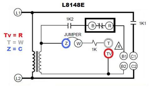 honeywell l8148e1265 aquastat wiring diagram honeywell