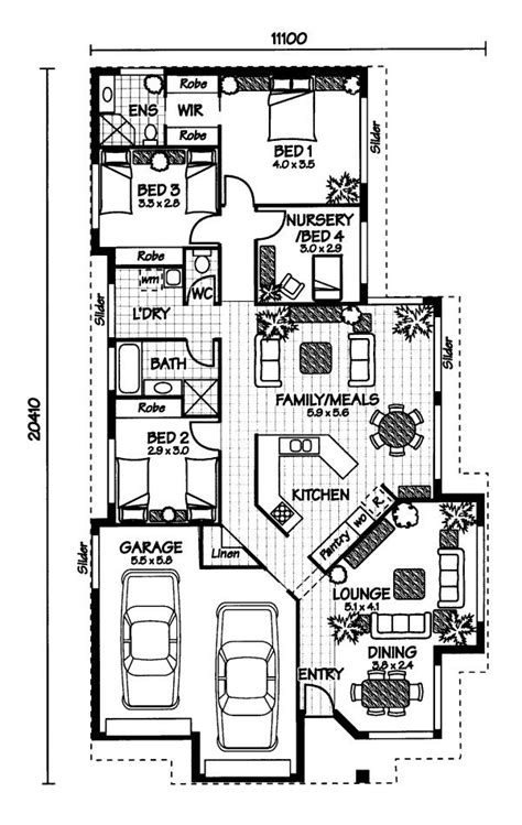 australian home plans floor plans australian house plans home design