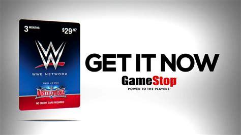 Wwe Network Gift Card Gamestop - wwe wrestling oficjalna polska strona