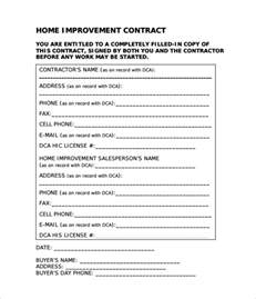 Remodeling Contract Template by Doc 585636 Home Remodeling Contract Home Remodeling