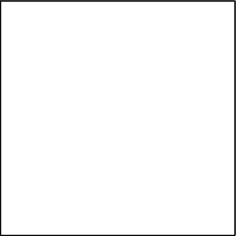 Black Outline Square by Image Gallery Transparent Square