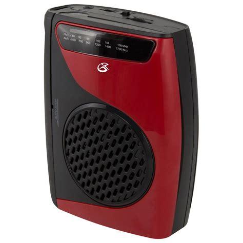 cassette recorder gpx am fm cassette player recorder cas337b the home depot