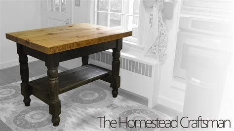 How To Make A Kitchen Table Out Of Pallets Building A Kitchen Island From Reclaimed Wood