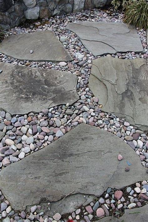 How To Make A River Rock Patio 25 best ideas about flagstone on flagstone