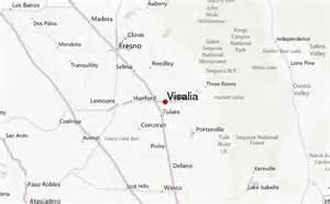 visalia california map visalia location guide