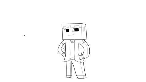 minecraft skines free colouring pages