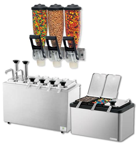 frozen yogurt toppings bar equipment wholesale frozen yogurt toppings mixes syrups cups