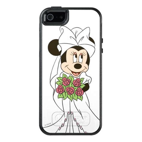 Fashion Mickey Minnie For Iphone 5 5s Se mickey minnie wedding getting married otterbox iphone
