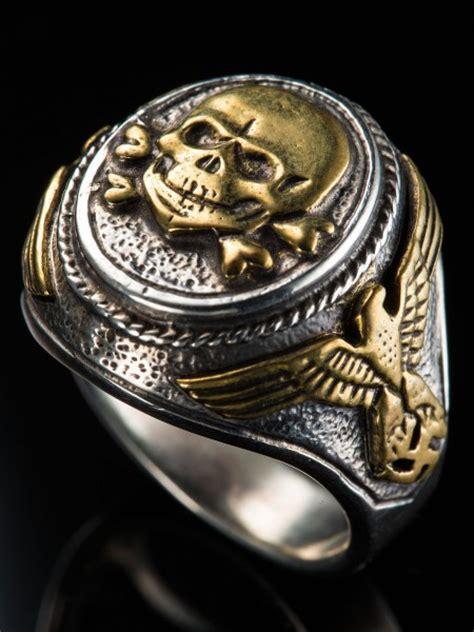 Baju Dc Estate Silver Original totenkopf ring crunk
