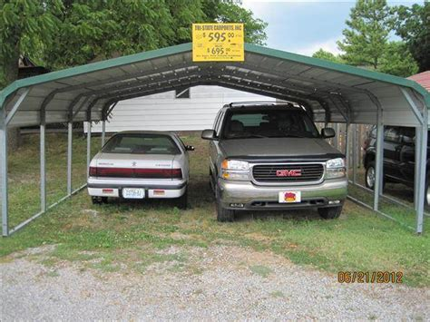 Used Car Port by Used 2012 Carport 2 Car For Sale