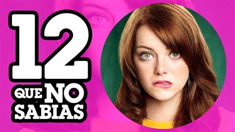 emma stone malcolm in the middle 12 cosas que no sabias de emma stone youtube