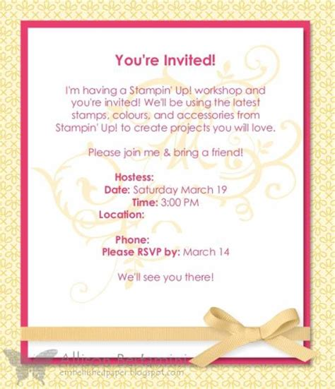 card template for workshop workshop invitation card images