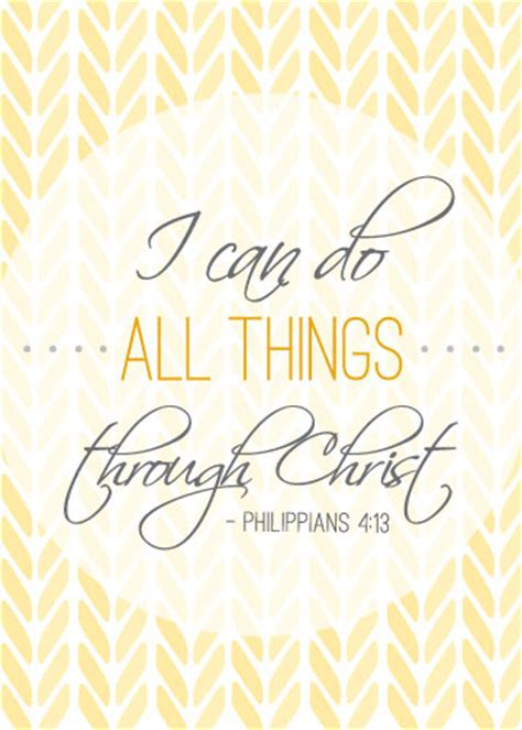 printable scripture quotes i can do all things through christ free printable i love