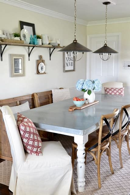 dining area makeover reveal beneath my