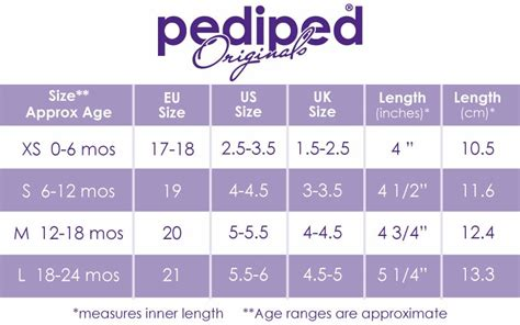 shoe size chart pediped baby boy pediped ethan suede leather crib shoes 12 18