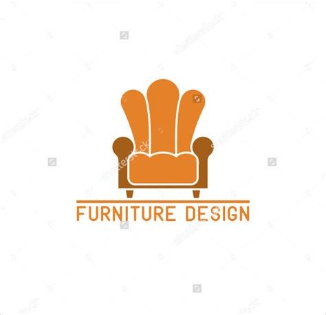 Colorful Armchair 30 Furniture Logo Designs Ideas Examples Design Trends