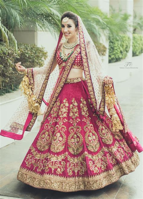 Wedding For Brides by Indian Bridal Dresses 2017 Bridal Wedding Lehengas Gown