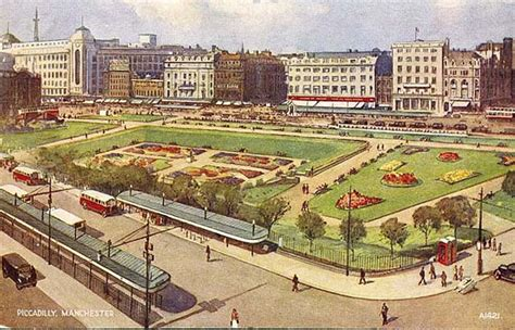 Manchester Gardens by Piccadilly Gardens