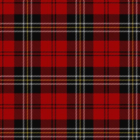 scotch plaid macpherson tartan red cluny sett the macphersons were royalists and aided the royal