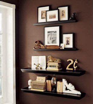 wall shelf decorating ideas 17 best images about living room decorating ideas on