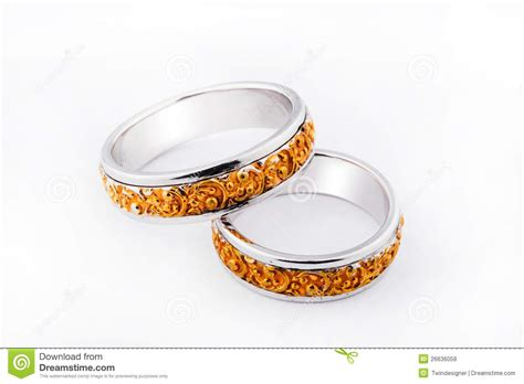 handcrafted wedding rings stock photo image of ring