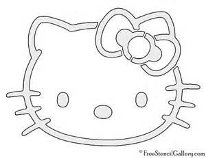 Hello kitty stencil free stencil gallery