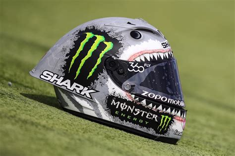 Helm Shark jorge lorenzo shark helmet for aragon replica race helmets