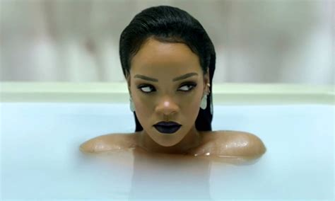 rihanna bathtub rihanna takes a soothing bath for her quot anti diary quot caign