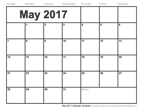 blank calendar template for blank may 2017 calendar weekly calendar template