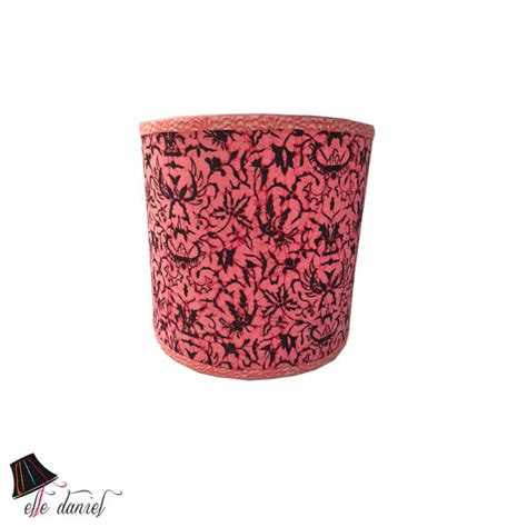 Black And Pink L Shade by Pink Black Drum L Shade Drum L Shades Pink L