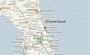map of ormond florida ormond location guide