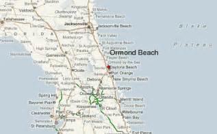 ormond florida map ormond location guide