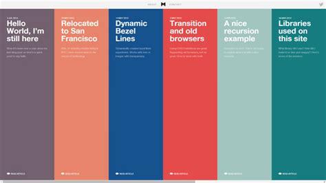 design inspiration timeline 20 gorgeous exles of timeline in web design for