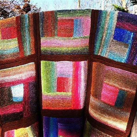 Log Cabin Knitting by 47 Best Images About Log Cabin Knitting On
