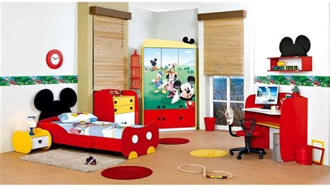 mickey mouse bedroom accessories cute mickey mouse bedroom theme decor for kids