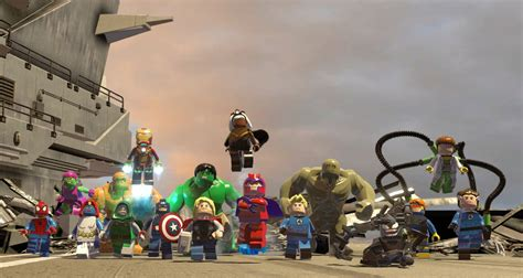 all marvel how many heroes are in lego marvel superheroes review