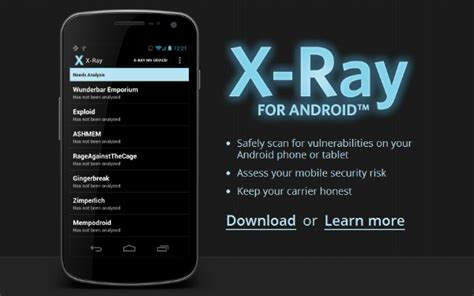 x app shows you the security wholes on your android device
