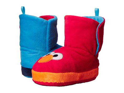 elmo toddler slippers favorite characters sesame cookie elmo