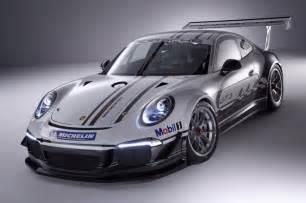 Porsche Carr 2013 Porsche 911 Gt3 Cup Race Car Revealed