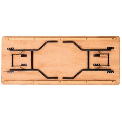 rec woodworking wooden rectangular trestle table