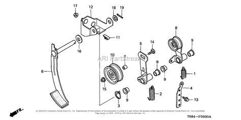honda snowblower parts diagram honda hs928 tas a snow blower jpn vin szas 1130001