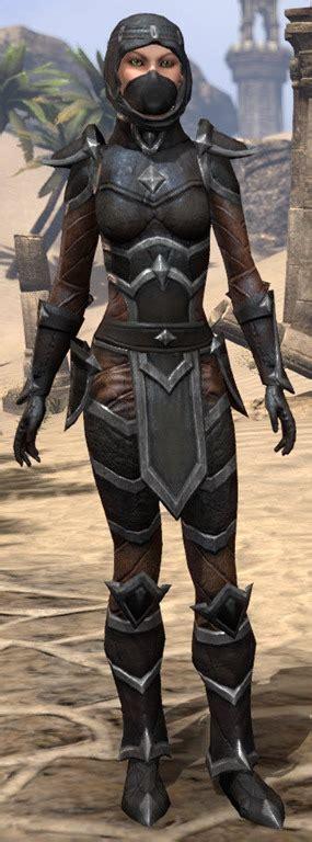 elder scrolls  naryus assassins armor eso fashion