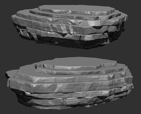tutorial zbrush rock 1000 images about rocks on pinterest spotlight